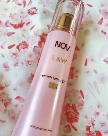 L&W エンリッチローション EX/NOV/化粧水を使ったクチコミ(1枚目)