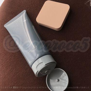 【画像付きクチコミ】\細かい産毛までちゃんとオフできて満足/リニューアル製品とのことですが、私は今回初使用!なのでこの口コミでは比較はできません。白いクリームは柔らかくて伸ばしやすい!付属のスポンジが大きめで厚みがあり、力の加減がしやすくてクリームを伸ば...