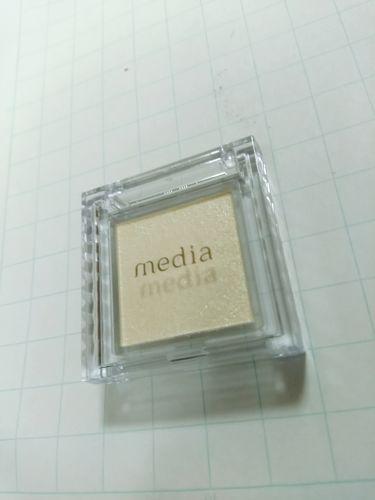 ブライトアップアイシャドウ/media/パウダーアイシャドウを使ったクチコミ(2枚目)
