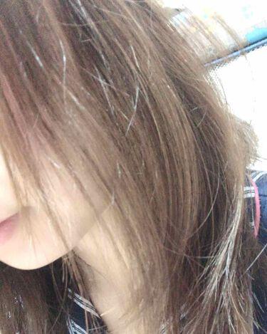 ホイップヘアカラー/ビューティラボ/ヘアカラー・白髪染め・ブリーチを使ったクチコミ(4枚目)