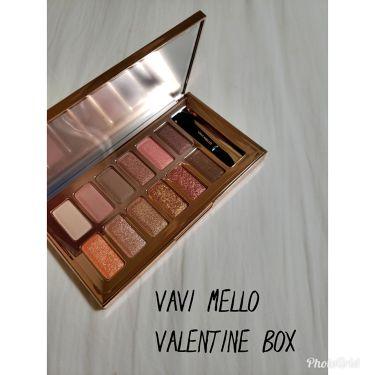 バレンタインボックス/VAVI MELLO/パウダーアイシャドウを使ったクチコミ(1枚目)