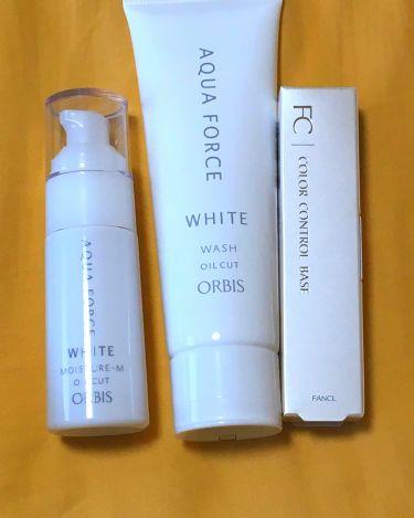 アクアフォースホワイトウォッシュ/ORBIS/洗顔フォームを使ったクチコミ(1枚目)