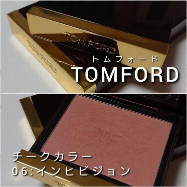 チーク カラー/TOM FORD BEAUTY/パウダーチークを使ったクチコミ(2枚目)