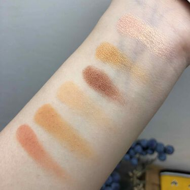 Snap shadows mix & match eyeshadow palette/FENTY BEAUTY BY RIHANNA/パウダーアイシャドウを使ったクチコミ(3枚目)