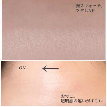 エアクッション スキンフィットトーンアップ/IOPE/化粧下地を使ったクチコミ(4枚目)