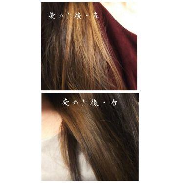 カラーコート デコレ/イリヤ コスメティクス/ヘアカラー・白髪染め・ブリーチを使ったクチコミ(4枚目)