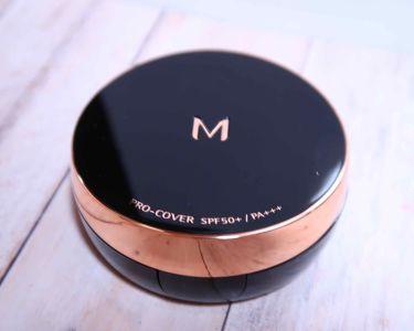 M クッション ファンデーション(プロカバー)/MISSHA/クッションファンデーション by K_M