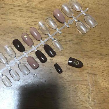 ネイル接着両面テープ/DAISO/つけ爪・ネイルチップを使ったクチコミ(2枚目)