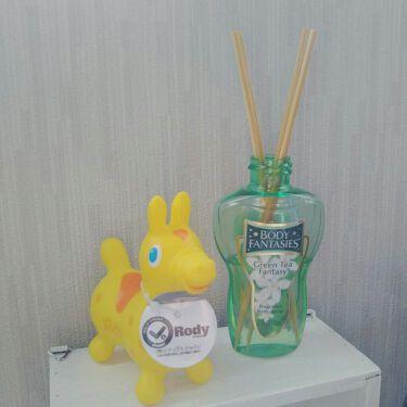 ボディスプレー グリーンティー/ボディファンタジー/香水(レディース)を使ったクチコミ(1枚目)
