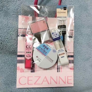 ハッピーバッグ2019/CEZANNE/その他を使ったクチコミ(2枚目)