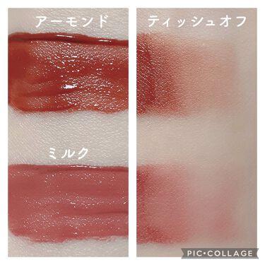 キスチョコレート ムースティント/ETUDE/口紅を使ったクチコミ(5枚目)
