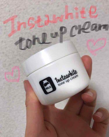 Instawhite トーンアップクリーム/明色化粧品/化粧下地を使ったクチコミ(1枚目)