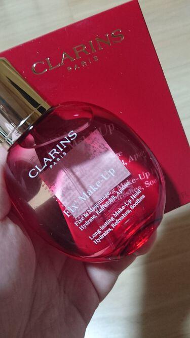 彫愛@Rienda♀Madonnaさんの「クラランスフィックス メイクアップ<ミスト状化粧水>」を含むクチコミ