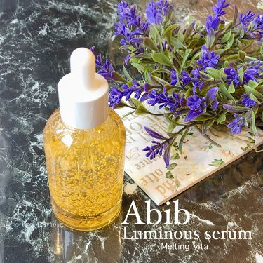 ルミナスセラム メルティングビタ/Abib /美容液を使ったクチコミ(1枚目)