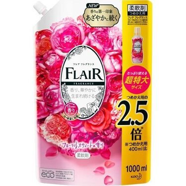 フレア フレグランス フローラルスウィートの香り つめかえ用 1000ml