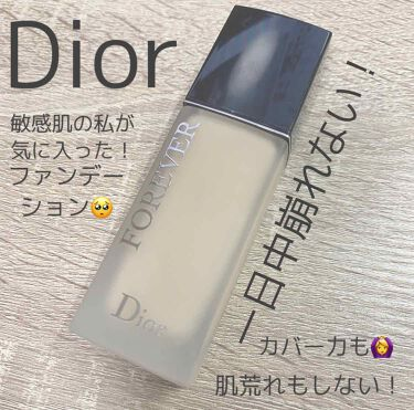 ディオールスキン フォーエヴァー フルイド マット/Dior/リキッドファンデーションを使ったクチコミ(1枚目)