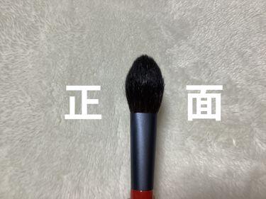 ハイライトブラシ/鉄舟collection/メイクブラシを使ったクチコミ(3枚目)