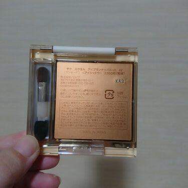 アイプランナーパレット/excel/パウダーアイシャドウを使ったクチコミ(2枚目)