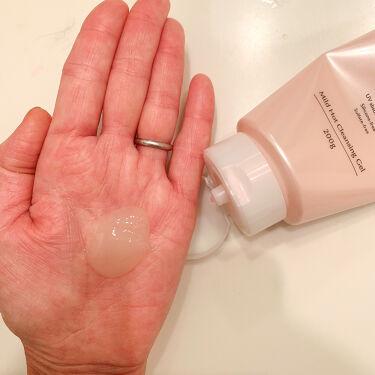 【画像付きクチコミ】\99%美容液でメイクオフ👍/ロート製薬の《Aunaマイルドホットクレンジングジェル》ホットクレンジングジェル🌟使ったことありますかー!?こちらは乳白色のややしっかり目のジェルなんだけど、手のひらで擦り合わせるとほんわか...
