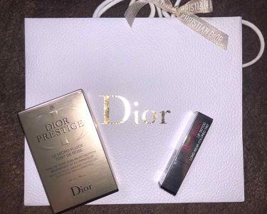 プレステージ ル フルイド タン ドゥ ローズ/Dior/リキッドファンデーションを使ったクチコミ(1枚目)