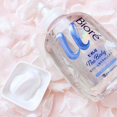 ザ ボディ 泡タイプ ピュアリーサボンの香り/ビオレu/ボディソープを使ったクチコミ(1枚目)