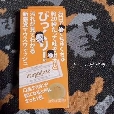 プロポリンス リフレッシュ ハンディパウチ/プロポリンス/マウスウォッシュ・スプレーを使ったクチコミ(3枚目)