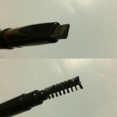ペンシルアイブロウ 三角芯/DAISO/アイブロウペンシルを使ったクチコミ(3枚目)
