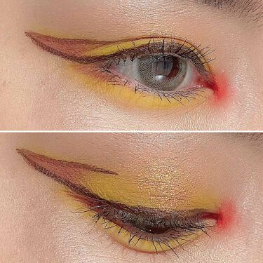 UT シャドウ パレット/NYX Professional Makeup/パウダーアイシャドウを使ったクチコミ(7枚目)