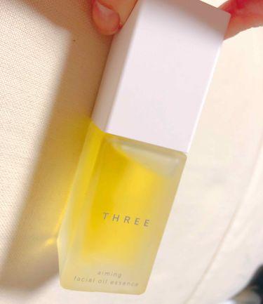 エミング フェイシャル オイルエッセンス/THREE/美容液を使ったクチコミ(1枚目)