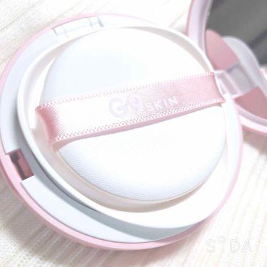 G9SKIN WHITE IN CREAMY CUSHION/berrisom/化粧下地を使ったクチコミ(2枚目)
