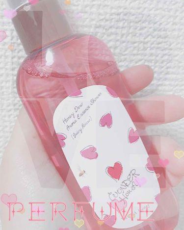 アロマエッセンスシャワー ジューシーロッソ/ワンダー ハニー/香水(レディース)を使ったクチコミ(1枚目)