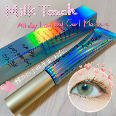 All Day Long and Curl Mascara/Milk Touch/マスカラを使ったクチコミ(1枚目)