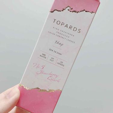 TOPARDS/TOPARDS/カラーコンタクトレンズを使ったクチコミ(1枚目)