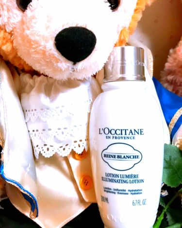 レーヌブランシュ ブライトフェイスウォーター/L'OCCITANE/化粧水を使ったクチコミ(1枚目)