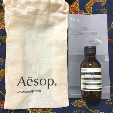 B&Tバランシングトナー/Aesop/化粧水を使ったクチコミ(1枚目)
