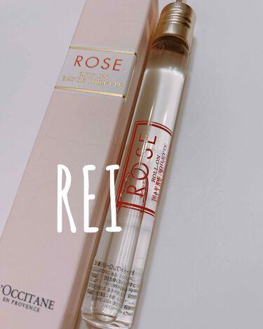 ローズ オード トワレロールタッチ/L'OCCITANE/香水(レディース)を使ったクチコミ(1枚目)