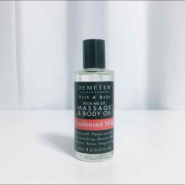 なたーしゃ🐍さんの「ディメーター(海外)Pick-Me-Up Massage & Body Oil<ボディクリーム・オイル>」を含むクチコミ