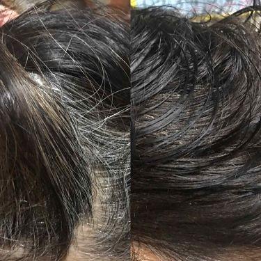 オールインワン カラートリートメント/マイナチュレ/ヘアカラー・白髪染め・ブリーチを使ったクチコミ(3枚目)