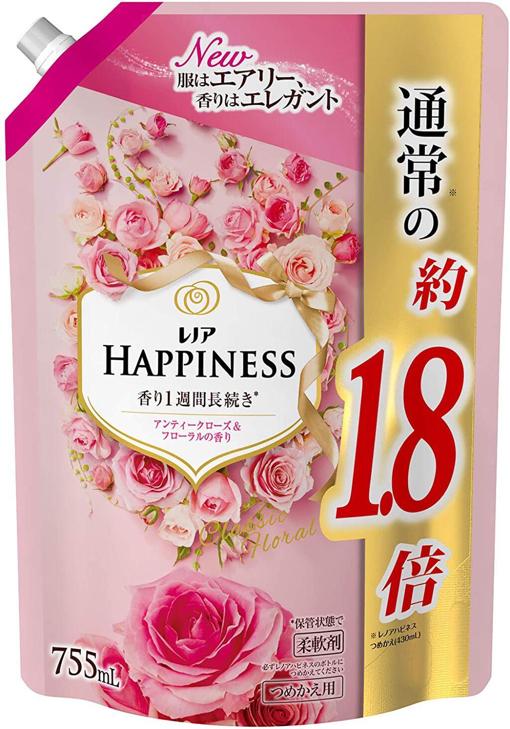 レノアハピネス アンティークローズ&フローラルの香り 755ml