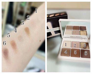 Snap shadows mix & match eyeshadow palette/FENTY BEAUTY BY RIHANNA/パウダーアイシャドウを使ったクチコミ(2枚目)