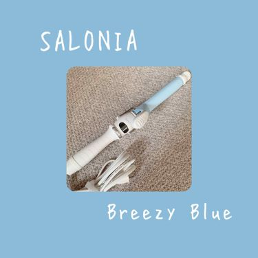 SALONIA セラミックカールヘアアイロン/SALONIA(サロニア)/ヘアケア美容家電を使ったクチコミ(1枚目)