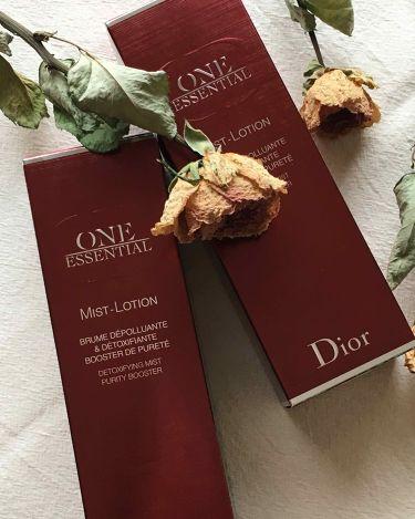ワン エッセンシャル ミスト ローション/Dior/ミスト状化粧水を使ったクチコミ(3枚目)
