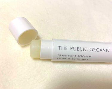 オーガニック認証 精油リップスティック スーパーポジティブ ライズ/THE PUBLIC ORGANIC/リップケア・リップクリームを使ったクチコミ(1枚目)