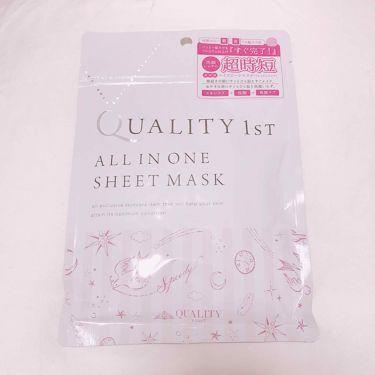 オールインワンシートマスク 超時短スキンケアシート 携帯用/クオリティファースト/シートマスク・パックを使ったクチコミ(2枚目)