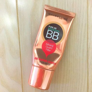 ☆ともてぃ☆さんの「メイベリン ニューヨークピュアミネラル BB スーパー カバー<化粧下地>」を含むクチコミ