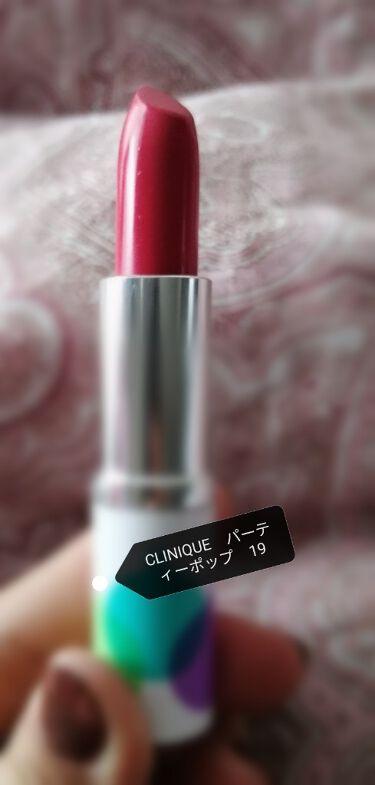 クリニーク ポップ ホリデイ セット/CLINIQUE/口紅を使ったクチコミ(3枚目)