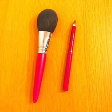 熊野筆 パウダー用/ロージーローザ/メイクブラシを使ったクチコミ(1枚目)