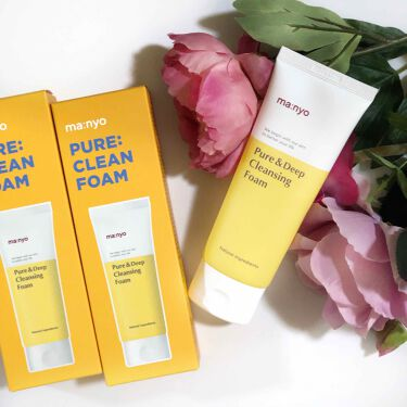 pure & deep cleansing foam MANYO FACTORY