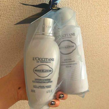 レーヌブランシュ ブライトフェースウォーター/L'OCCITANE/化粧水を使ったクチコミ(1枚目)