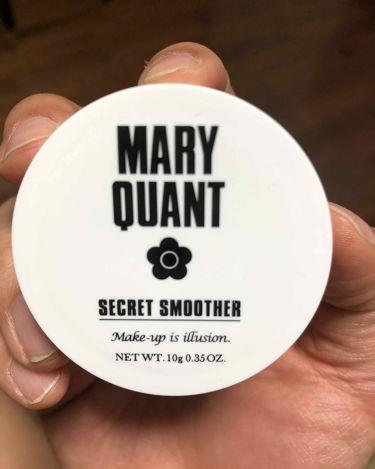 シークレット スムーザー/MARY QUANT/化粧下地を使ったクチコミ(1枚目)